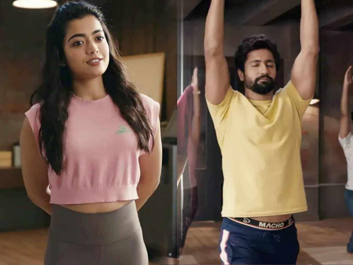 Rashmika Mandanna's Underwear Ad